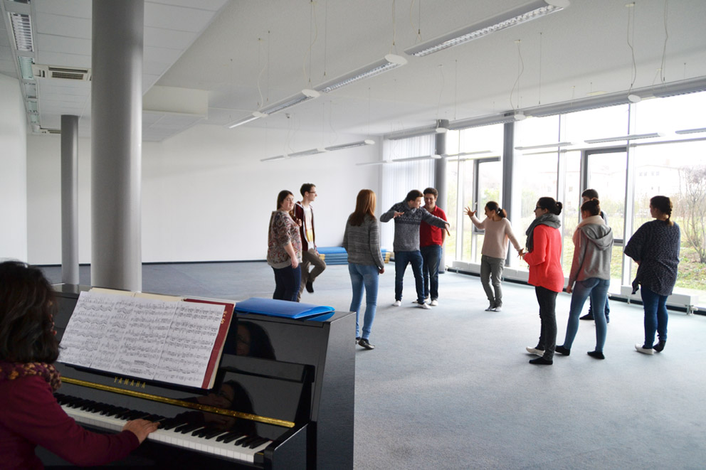 Blick in unsere neue Aula
