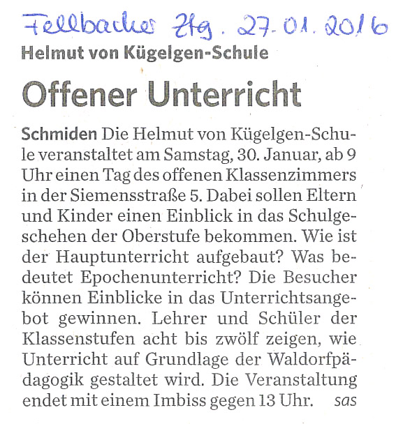 2016_01_27 Fellbacher Ztg